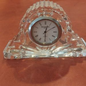Small Wateford crystal clock